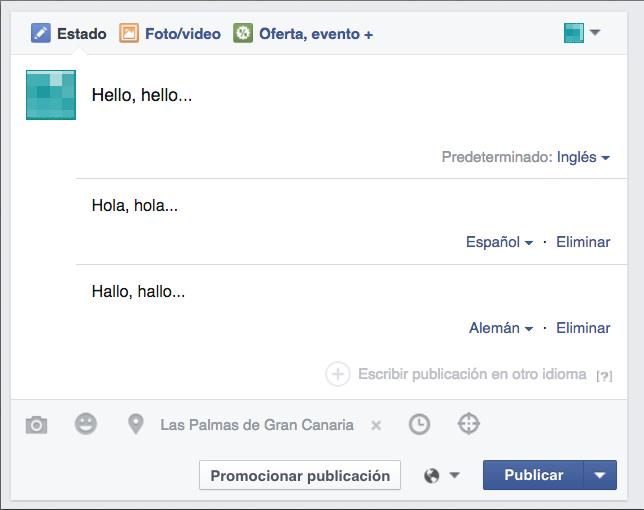 publicar un post en varios idiomas en facebook 2